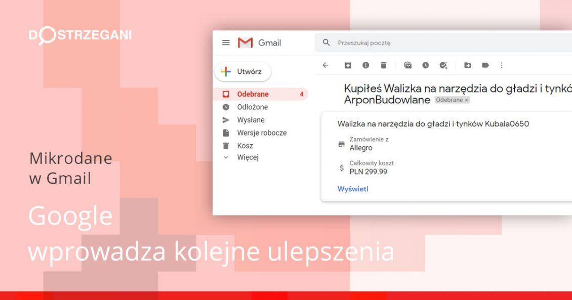 Mikrodane w Gmail
